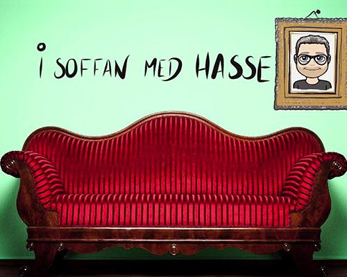 SaraClaes gästar I soffan med Hasse