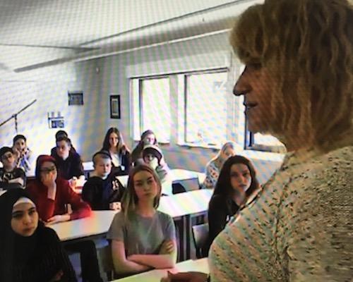 SVT - Sara på Veingeskolan i Laholm