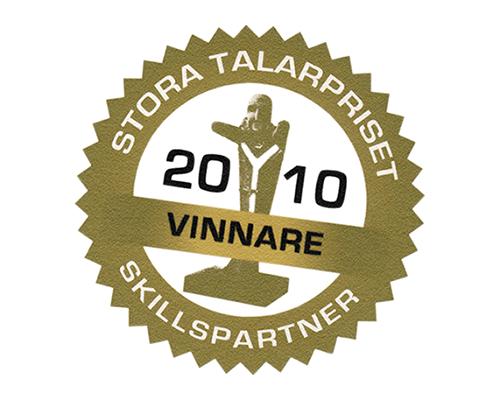 Vinnare av Stora Talarpriset 2010