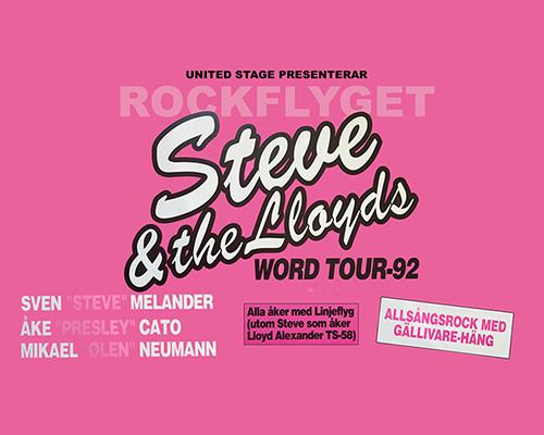 Rockflyget 1992 - Steve & The Lloyds