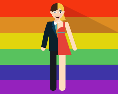 Prideparaden - eller ett telefonsamtal betyder så mycket